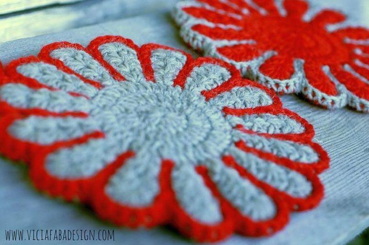 crochet potholders