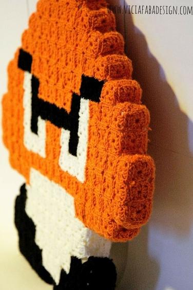 crochet pixel goomba