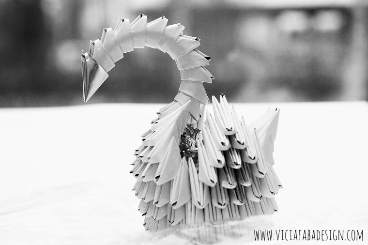 recycled swans
